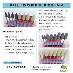Pulidores Resina